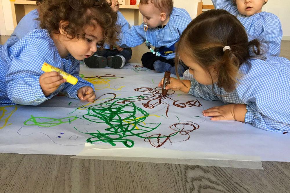 Dibuixant amb colors